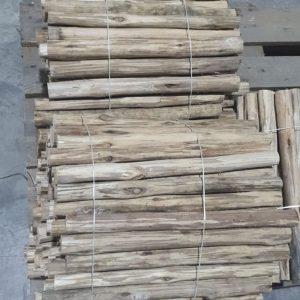 מוט עץ מקרמה טבעי